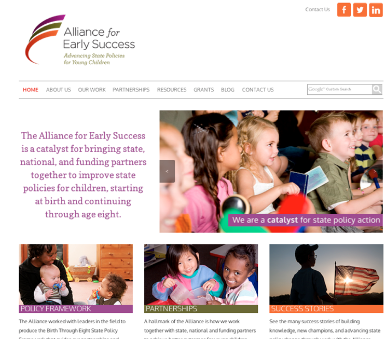 The Alliance For Early Success   New Look, New Name, Same Incredible Mission