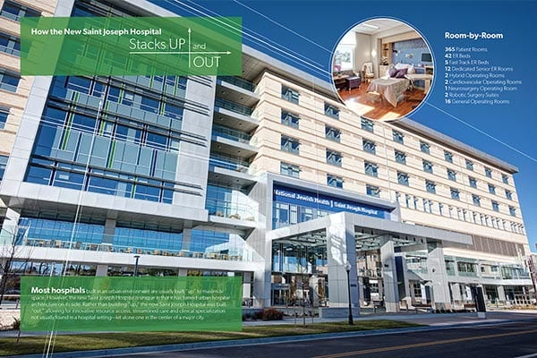 Saint Joseph Hospital | Building Awareness For A New Hospital