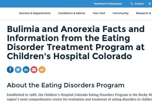 Children's Hospital Colorado | SEO