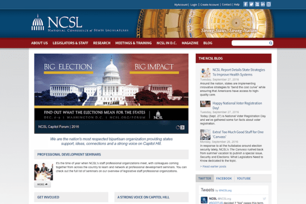 National Conference Of State Legislatures | Search Engine Optimization