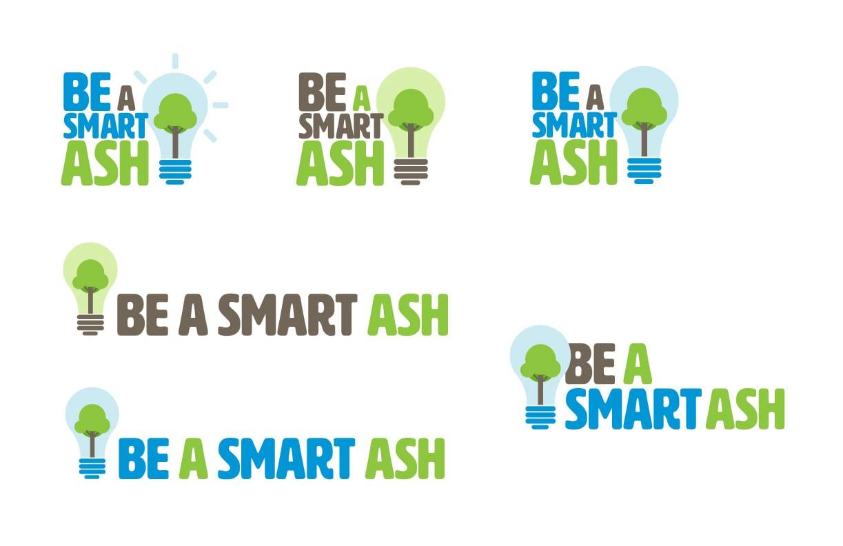 Be-a-smart-ash-logo-design-2