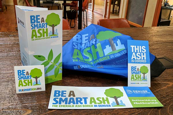 Denver Parks & Recreation | Be A Smart Ash Branding