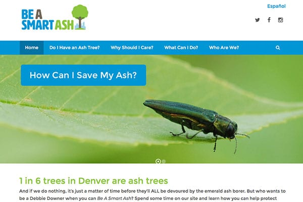Denver Parks & Recreation | Be A Smart Ash Website Design, Development And SEO