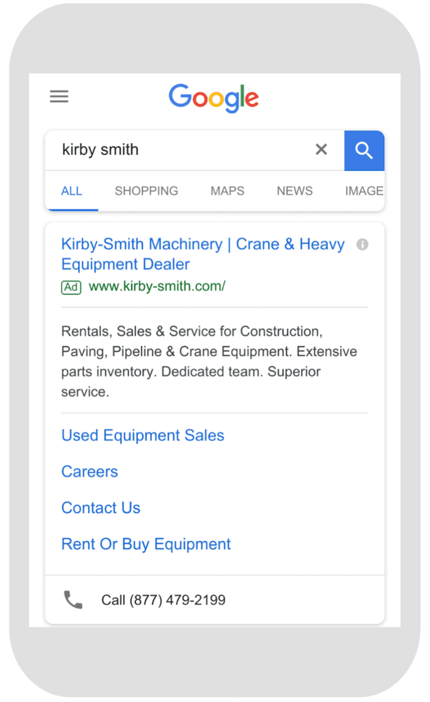centertable-kirby-smith-machinery-search-marketing-campaign-google