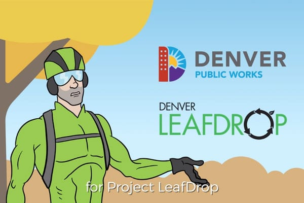 Denver Parks & Recreation | Project LeafDrop 2018 Digital Campaign